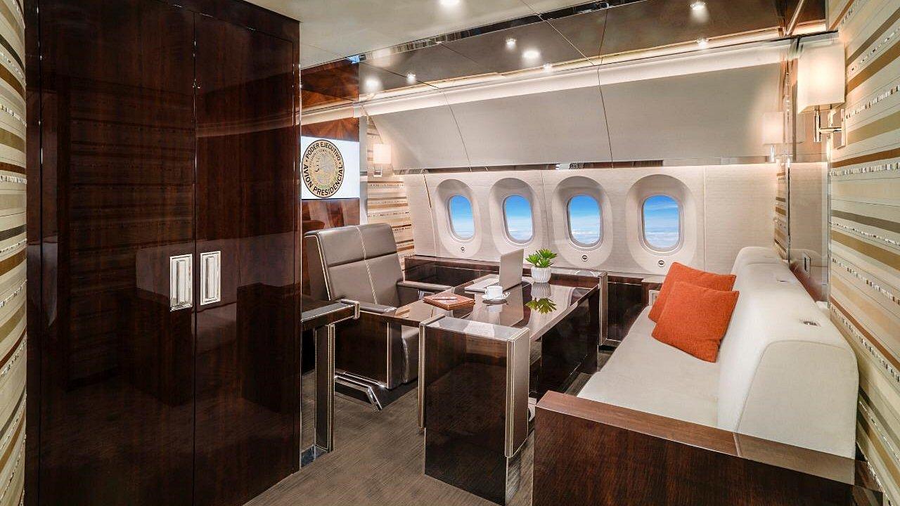 Fotogalería | Los 'lujos' del avión presidencial que no ha podido ...