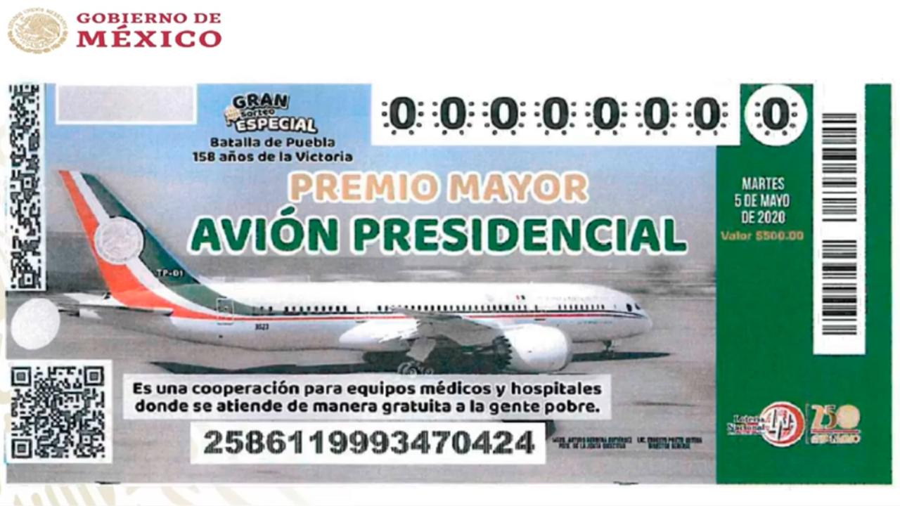 Bancos podrían vender boletos para rifa del avión presidencial