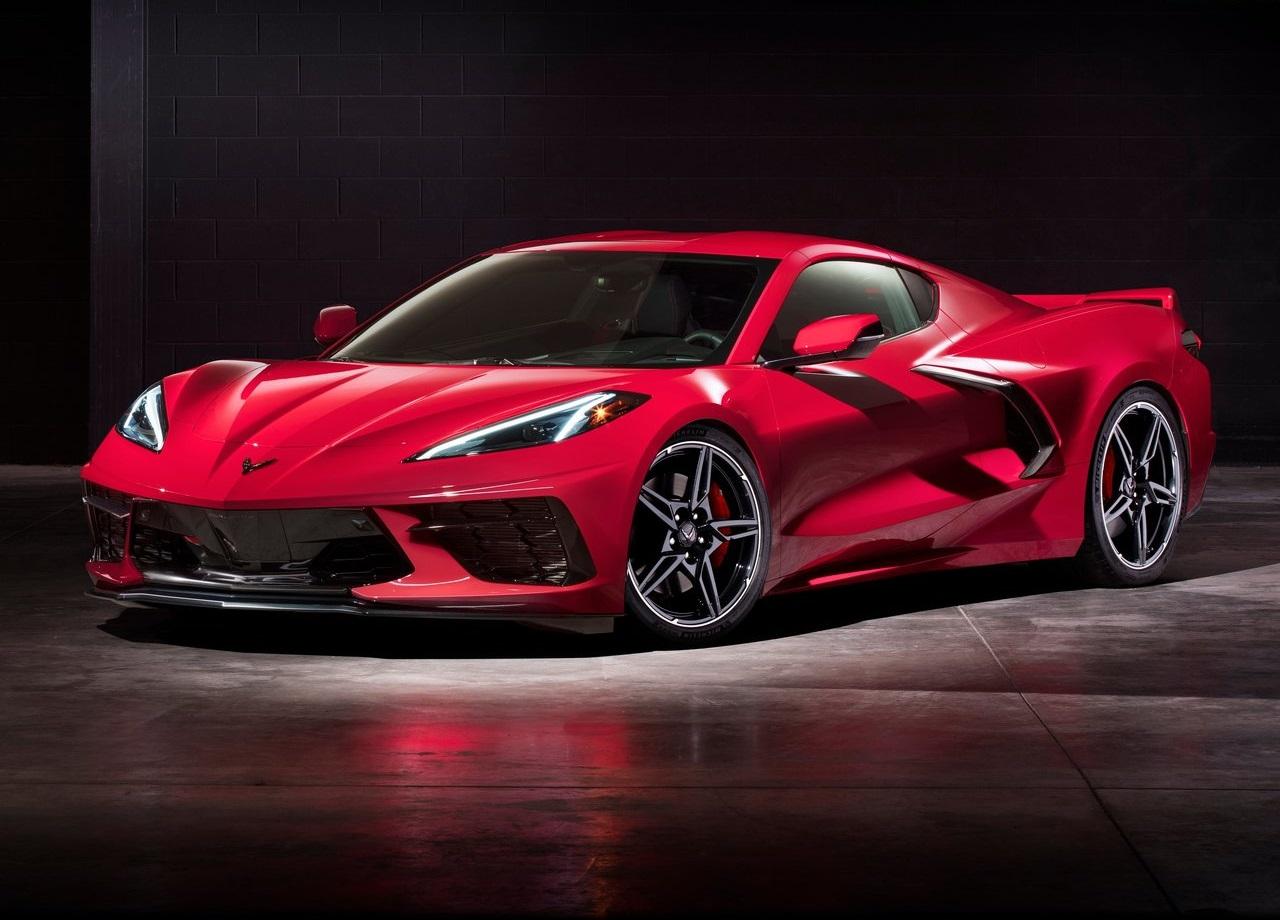 Dejan sin ruedas a nuevo Corvette C8 y las imágenes se vuelven virales