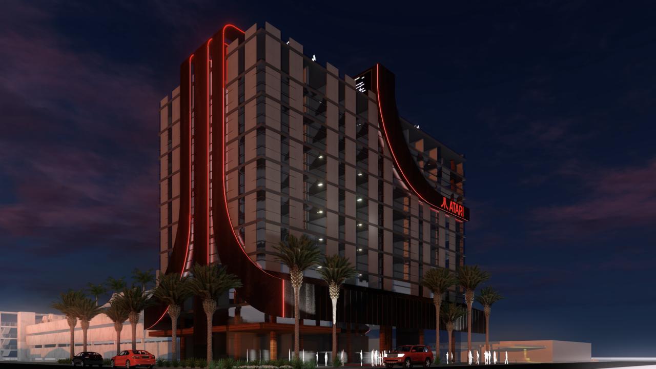Hoteles para 'gamers' con temática Atari llegan a ciudades de EU