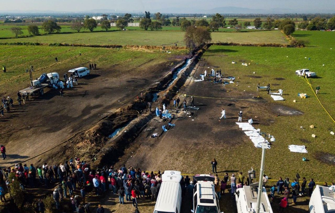 Reportan fuga de combustible en Tlahuelilpan, lugar de explosión del 2019