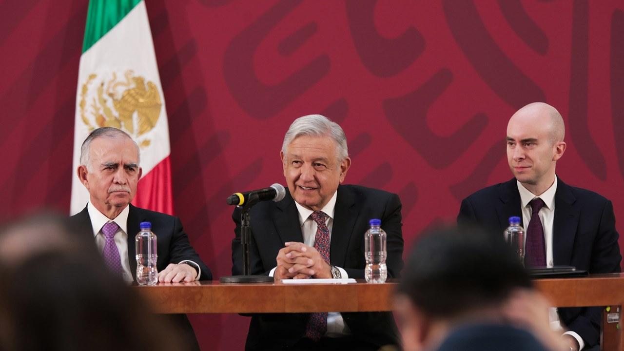 AMLO instala su Gabinete para Crecimiento Económico, con Romo a la cabeza