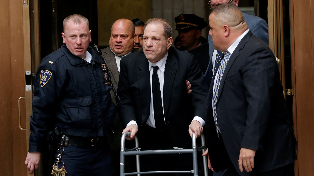 Acusan a Harvey Weinstein de 11 nuevos delitos sexuales en Los Ángeles
