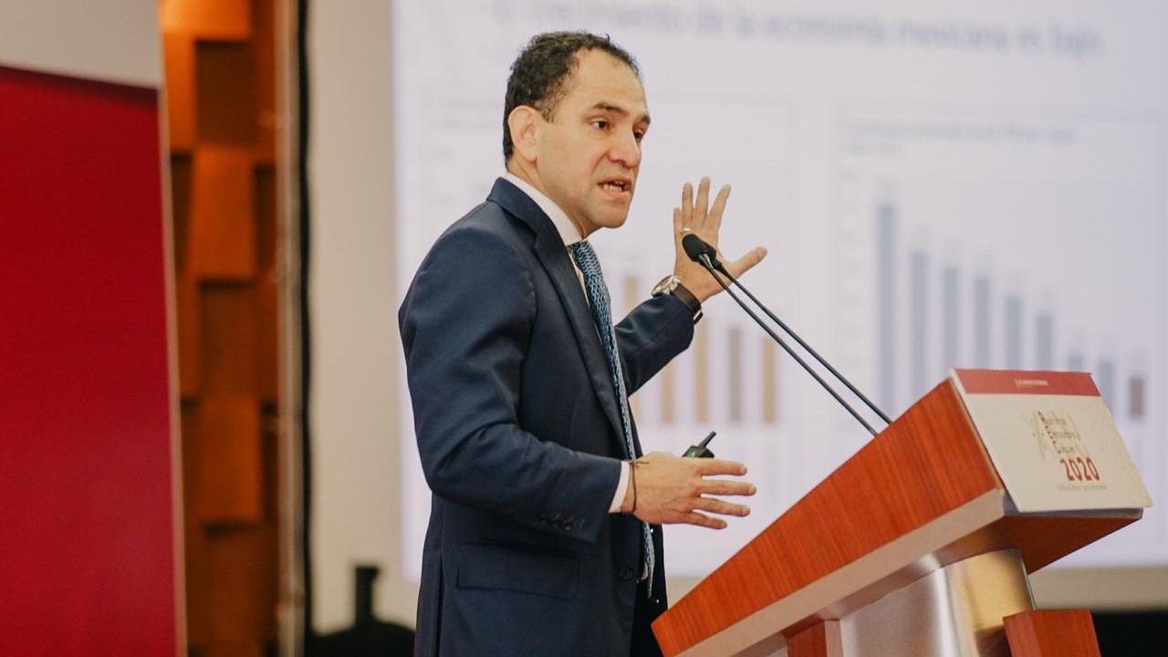 Estimación de crecimiento económico no es optimista, es responsable: Herrera