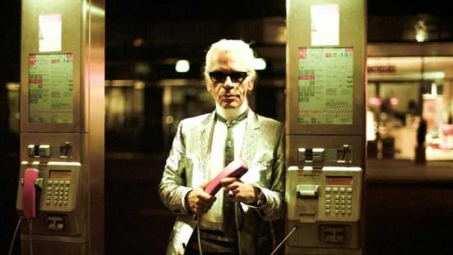 Karl Lagerfeld en Hotel De Rome