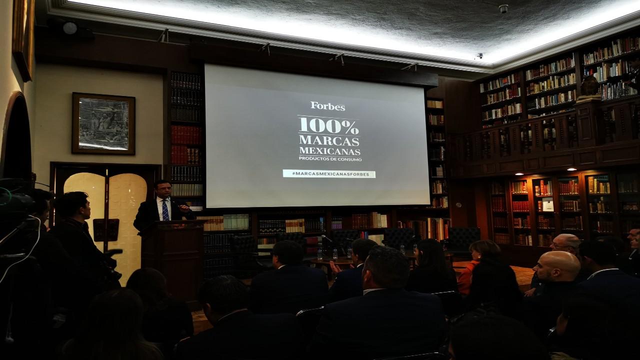 Forbes México celebra a las 100% Marcas Mexicanas con más reconocimiento en el país