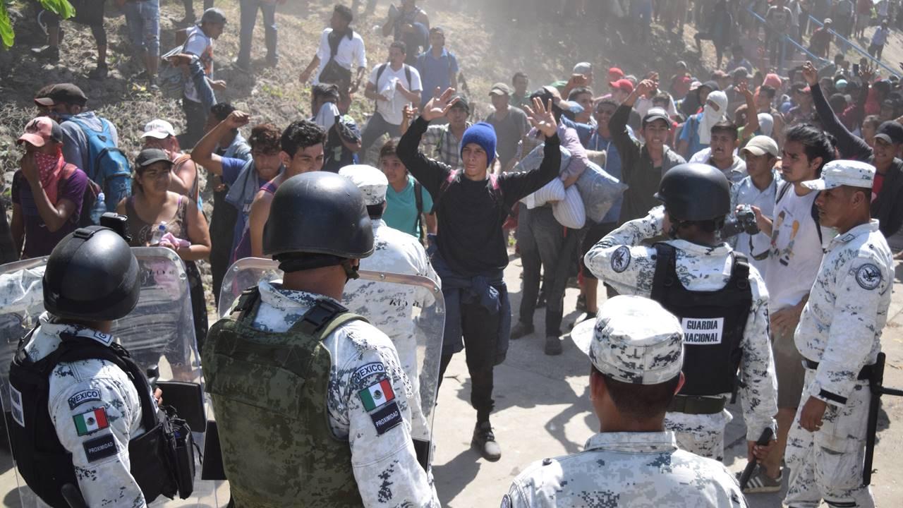 Persiste preocupación por utilización de la Guardia Nacional en tema migrante