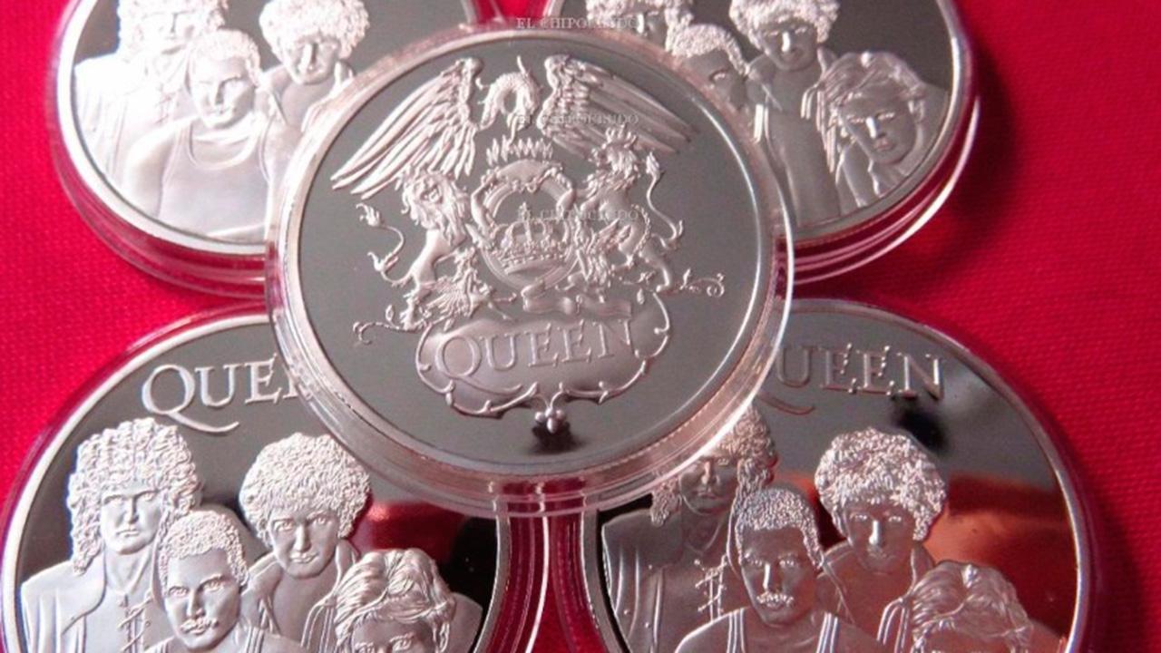 Reino Unido lanza moneda conmemorativa en honor a Queen
