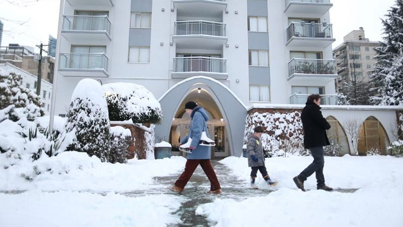 Frío extremo 'congela' gran parte de Canadá a -50 grados
