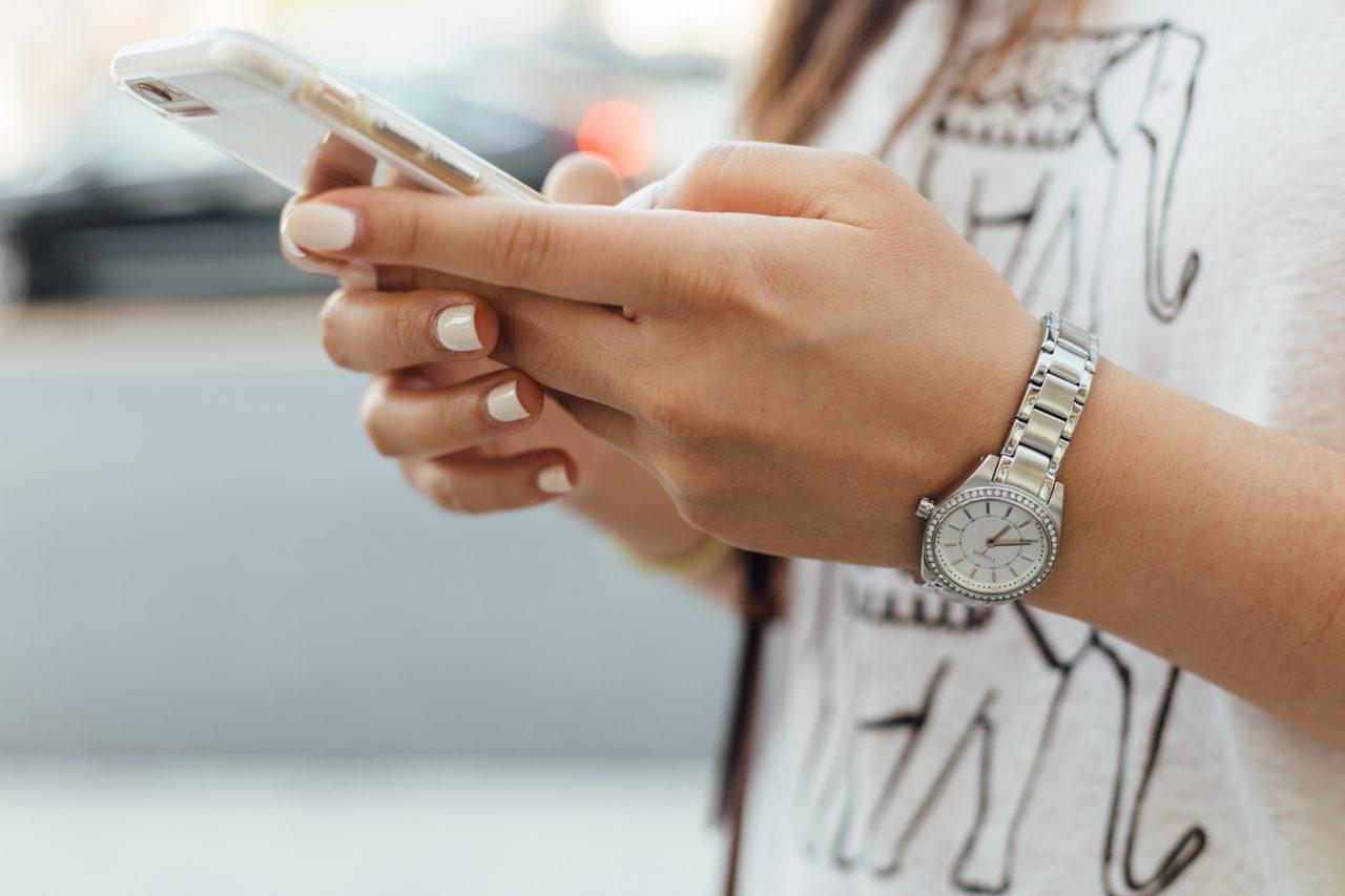Gasto en smartphones, in crescendo