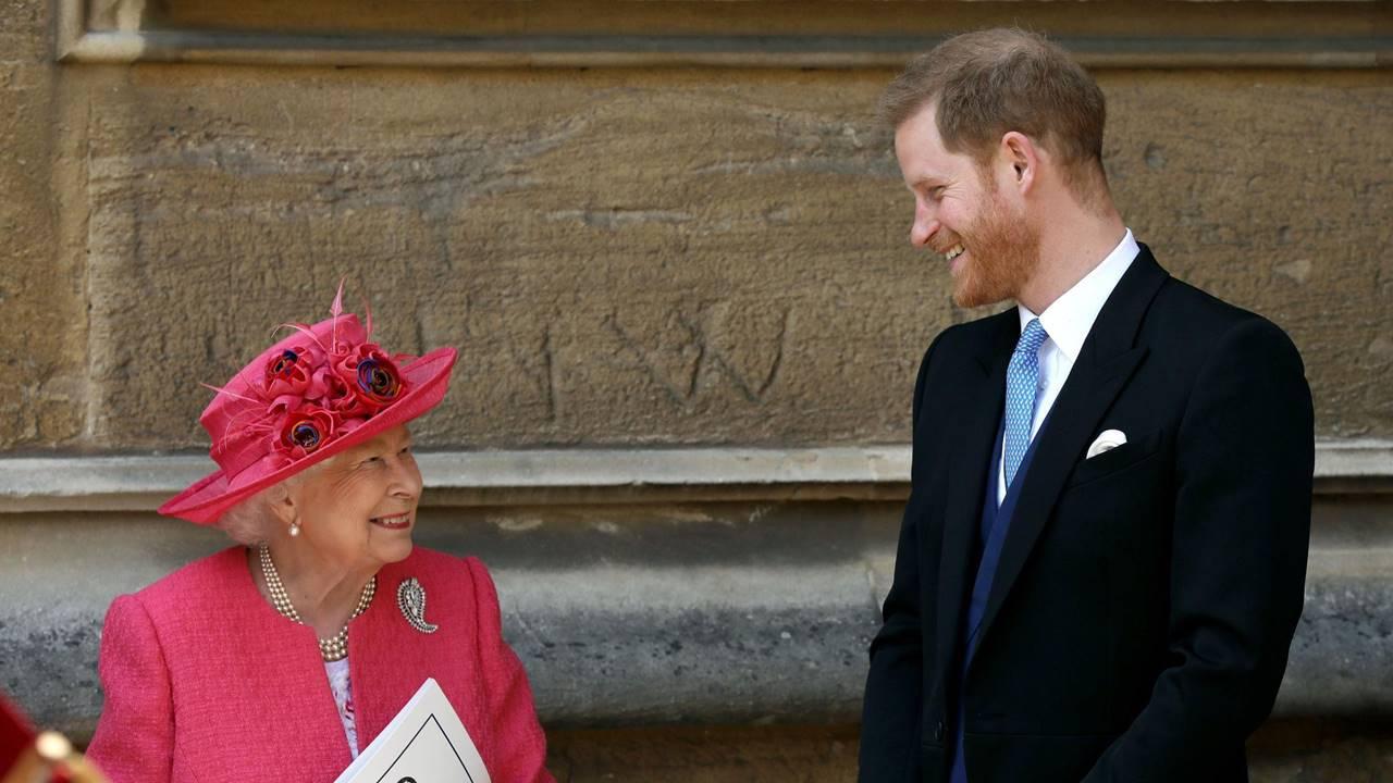 Reina Isabel cede y da su aval al príncipe Harry y Meghan para distanciarse