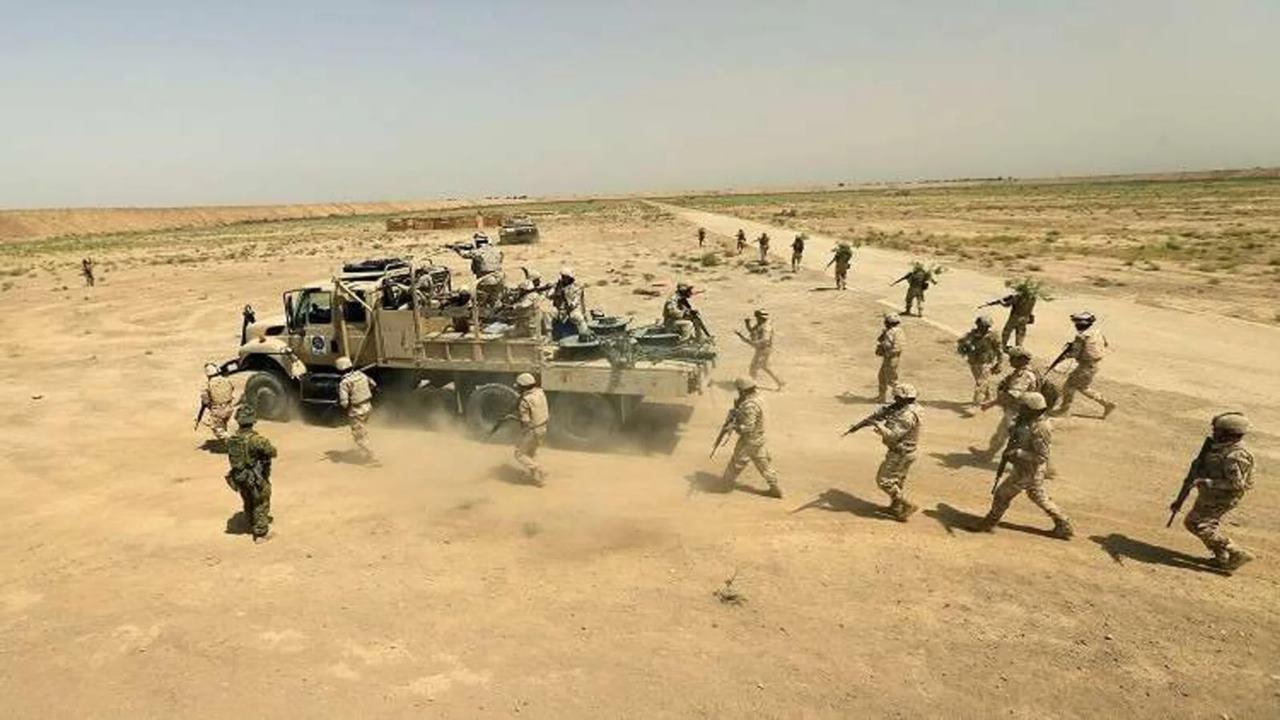 Cohetes impactan base militar de EU al norte de Bagdad