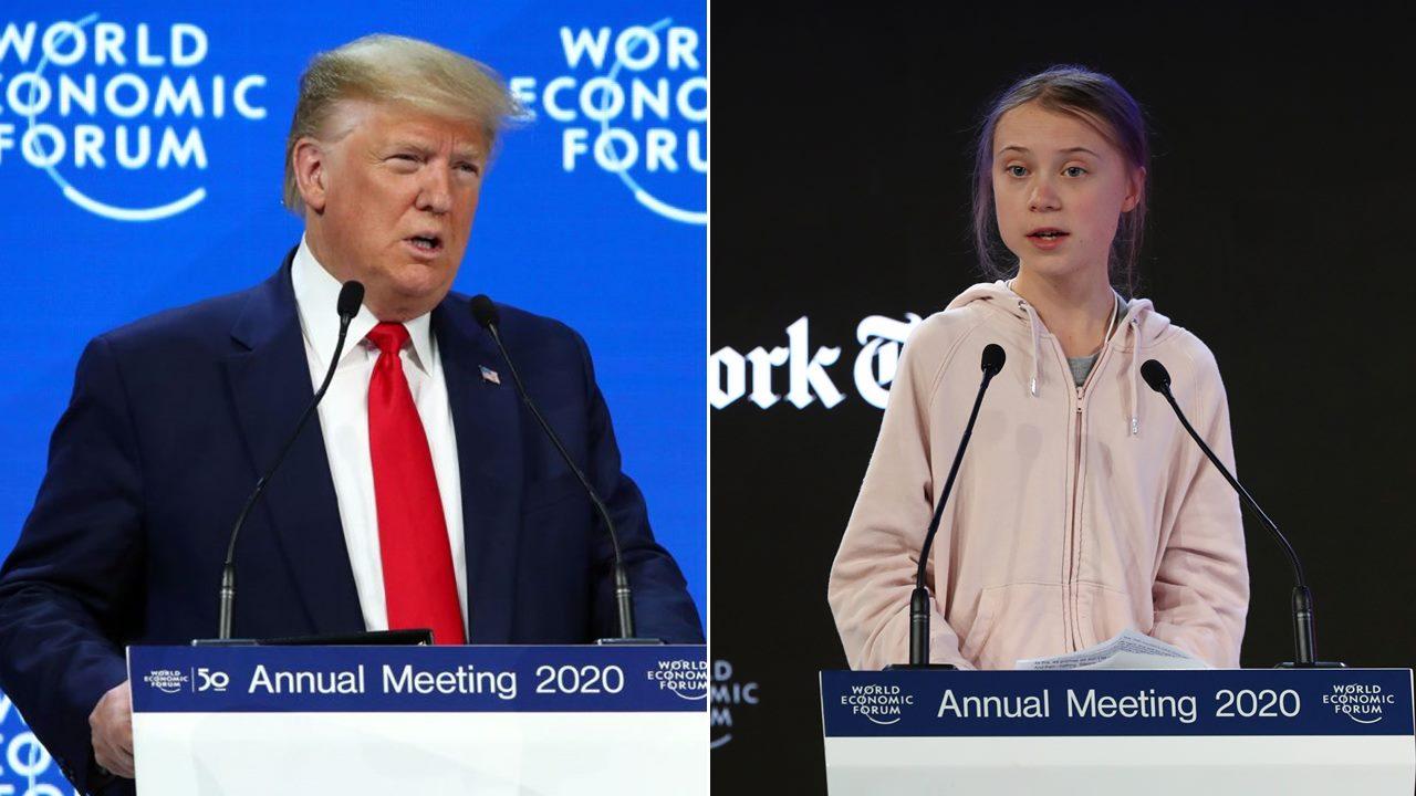 Choque por clima en Davos: Trump critica a 'profetas de la fatalidad'; Thunberg exige acción
