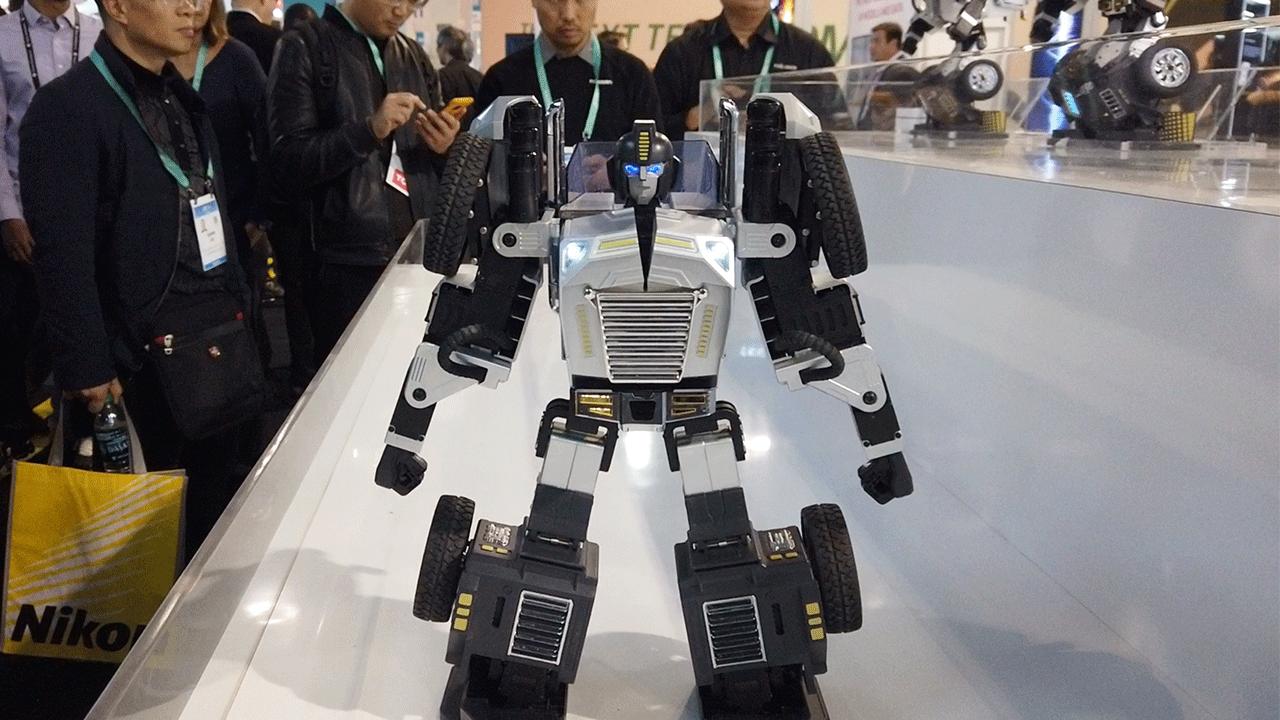 CES 2020 | T9, el transformer que se pasea por la feria de tecnología más importante