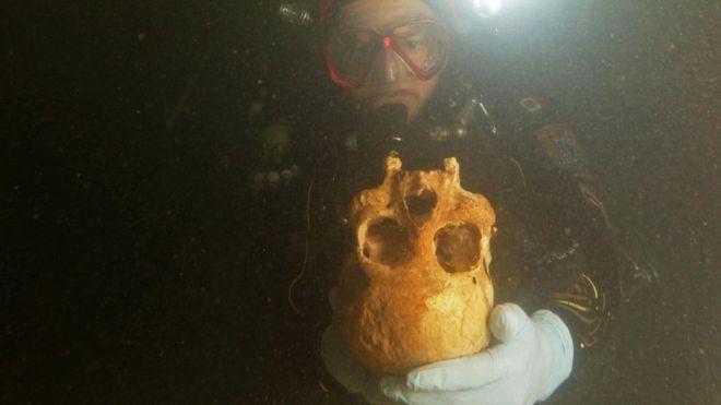 Hallan en Tulum los restos de mujer con más de 10,000 años de antigüedad
