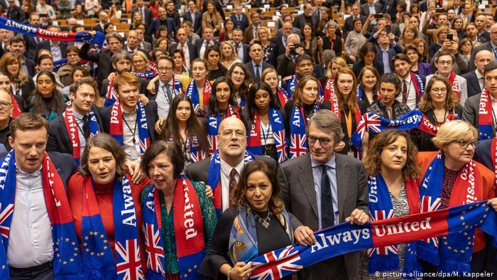 Cunde la tristeza post-Brexit en el Parlamento Europeo
