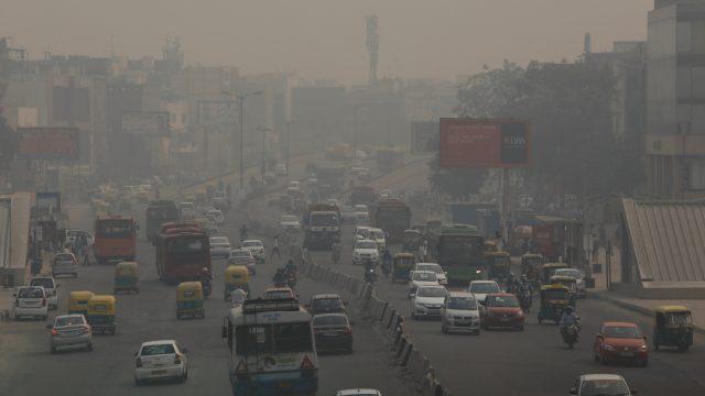 nueva delhi polucion