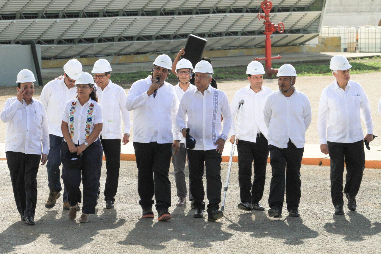 No más apagones en Península de Yucatán, promete AMLO