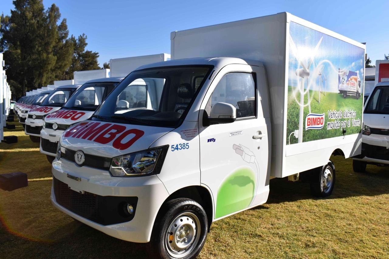 Bimbo añade 100 vehículos eléctricos y 41 híbridos a su flotilla 'verde'
