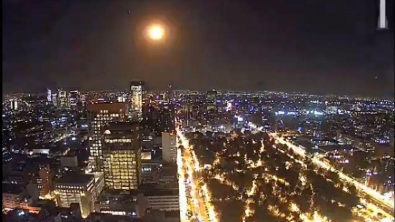 Sí era un meteorito, confirman sobre 'bola de fuego' vista en el cielo de México