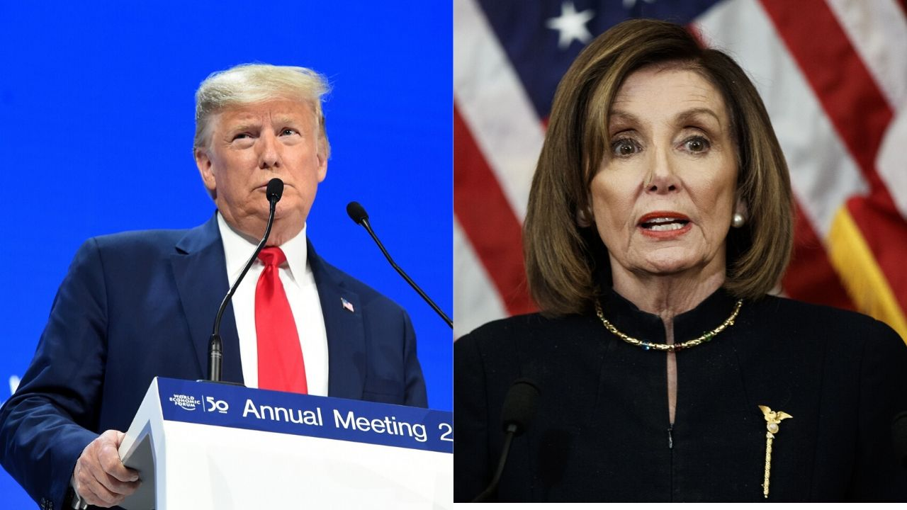 Donald Trump Nancy Pelosi