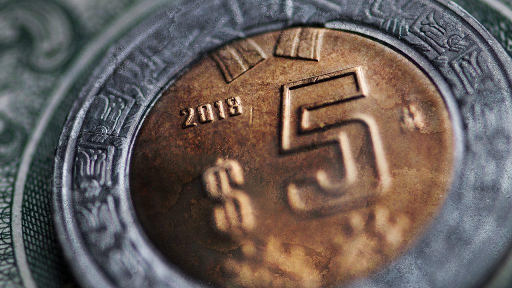peso moneda moneda economía aprecia ganancia
