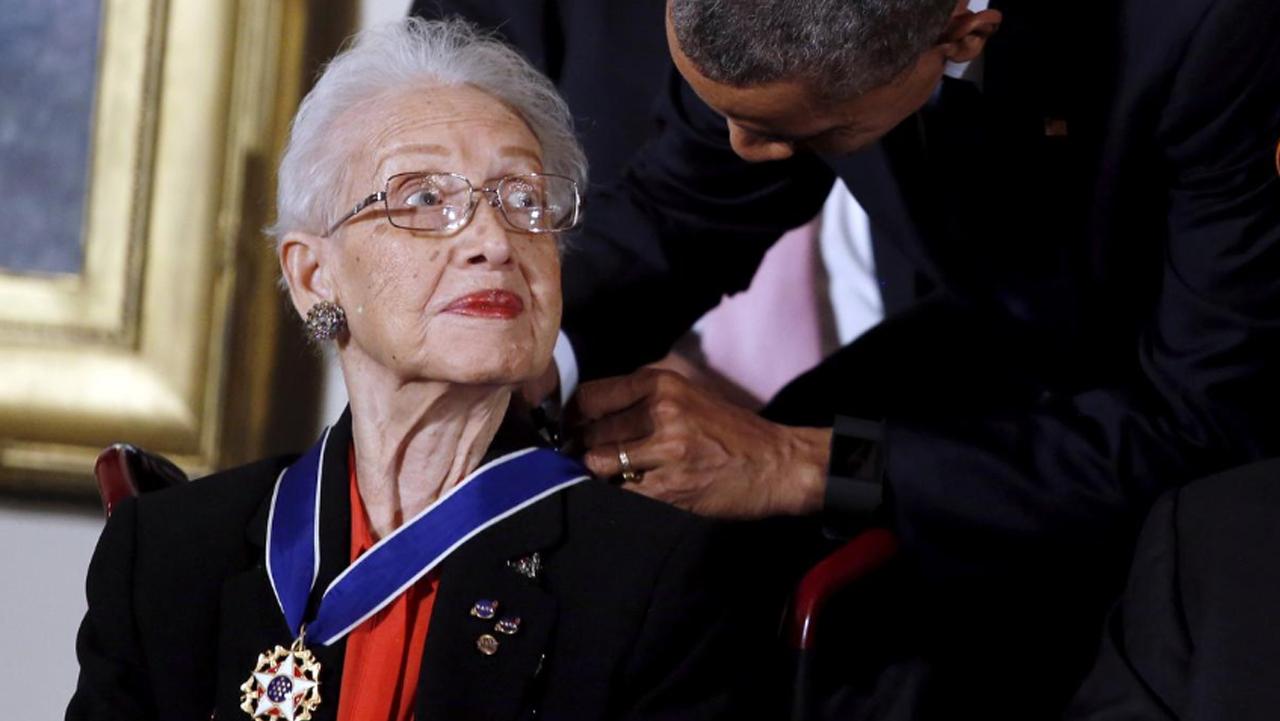 Katherine Johnson, matemática de la NASA de 'Figuras ocultas', muere a los 101 años