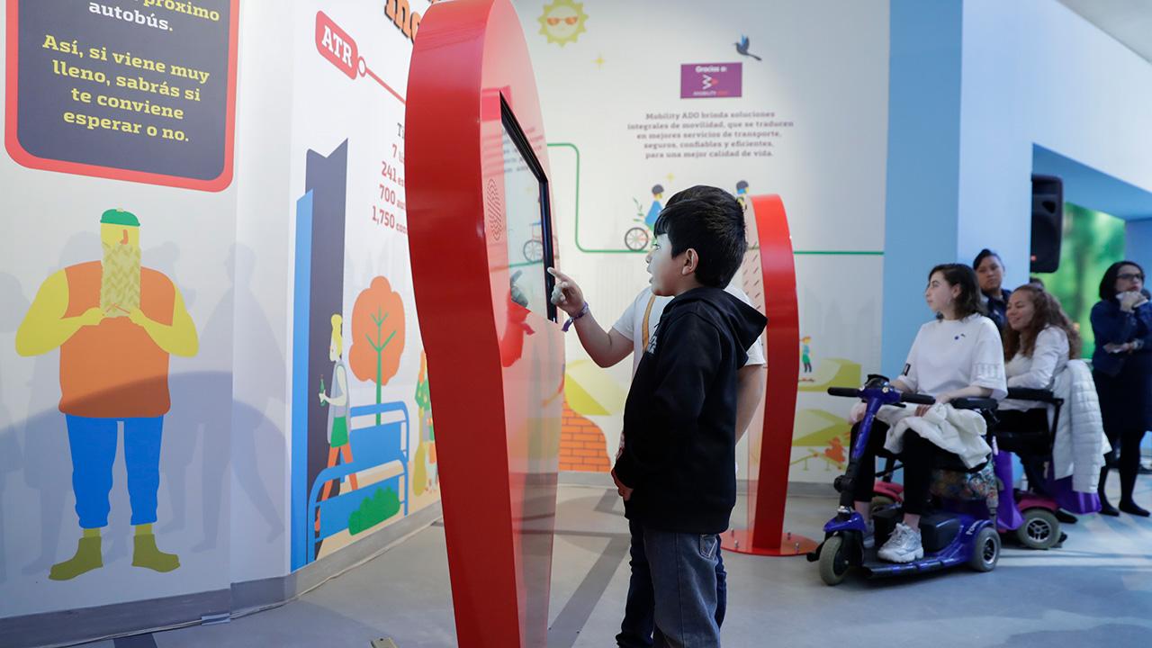 Por el buen camino: MOBILITY ADO y Papalote Museo del Niño inspiran el futuro