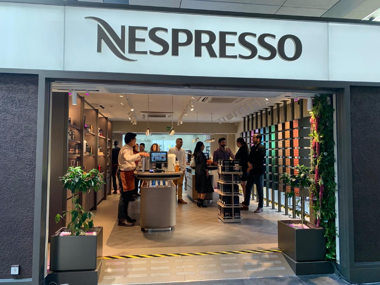 Nespresso invierte 7 mdp en boutique y busca expandir su negocio en tres años