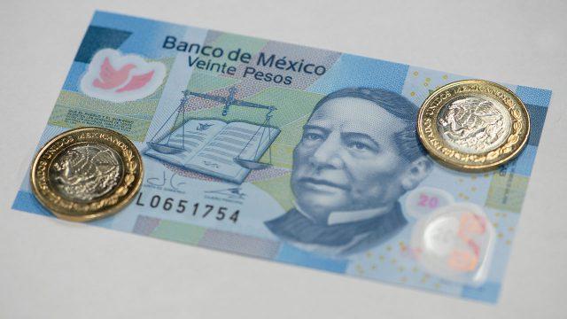 Billete de Veinte pesos