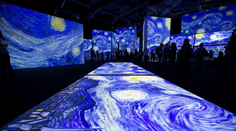 Así es la experiencia dentro de Van Gogh Alive en la Ciudad de México