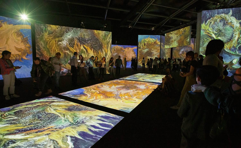 Van Gogh Alive experience Ciudad de México