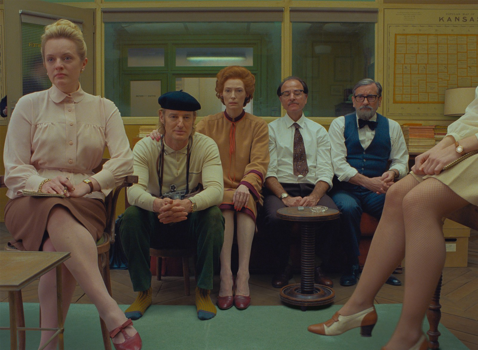 Wes Anderson the french dispatch di