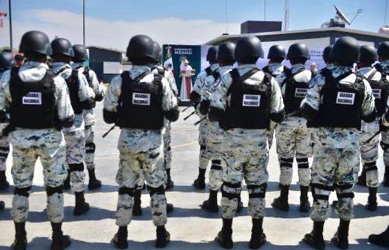 Cuartel en Guanajuato de Guardia Nacional