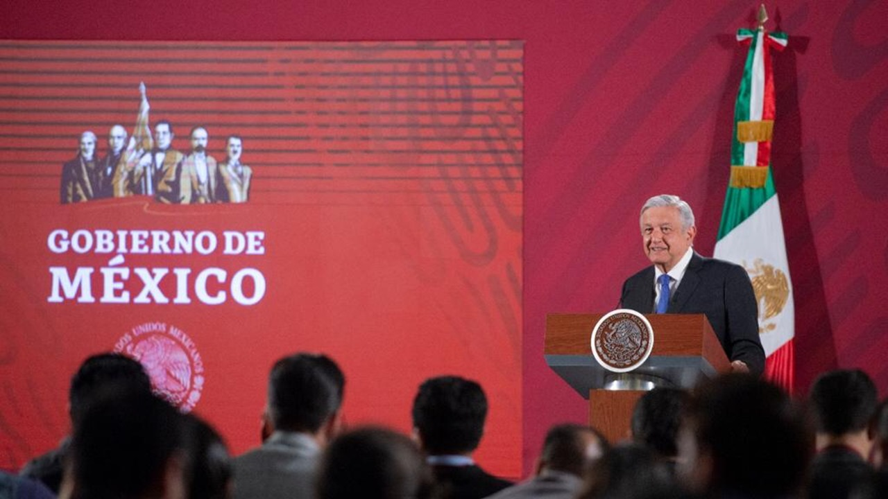 AMLO dará cuatro informes de gobierno este 2020