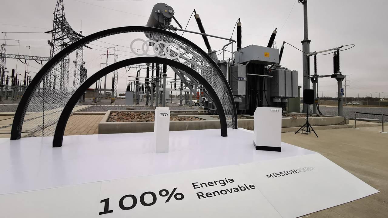 Audi México se estrena en la energía verde en Puebla
