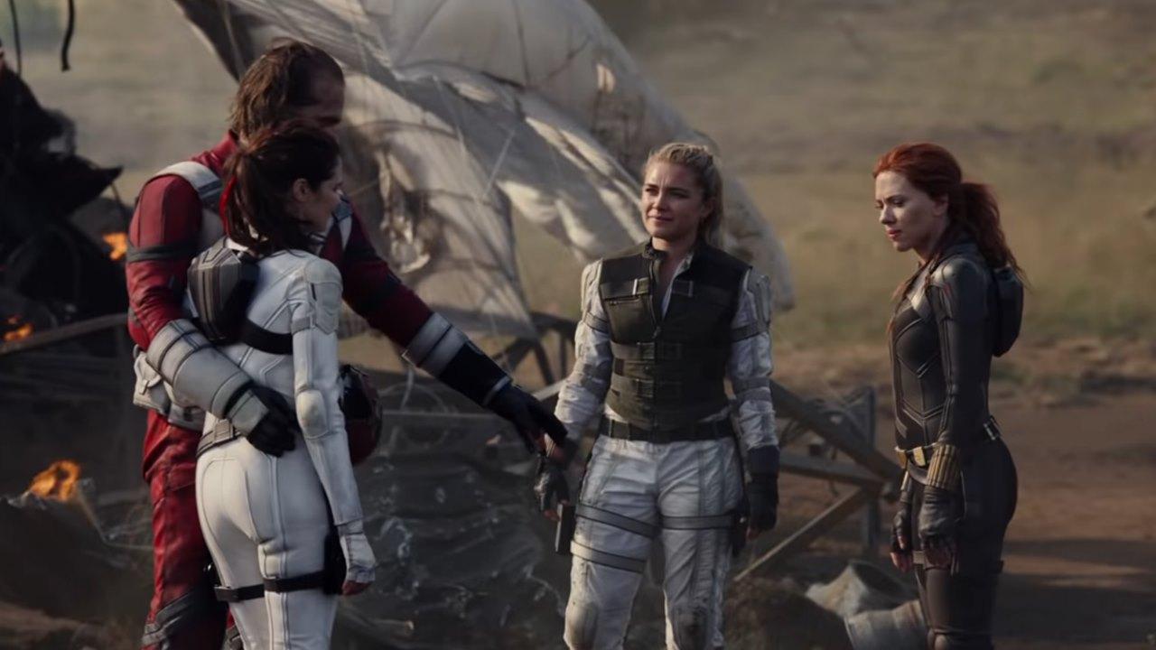 'Black Widow' revela a su primer familia en tráiler durante el Super Bowl