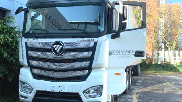 camion segalmex Foton