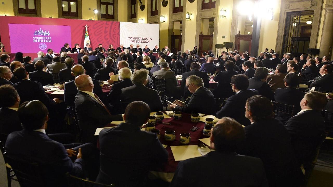 Confidencias: La élite del dinero en México acompañará a AMLO a ver a Trump