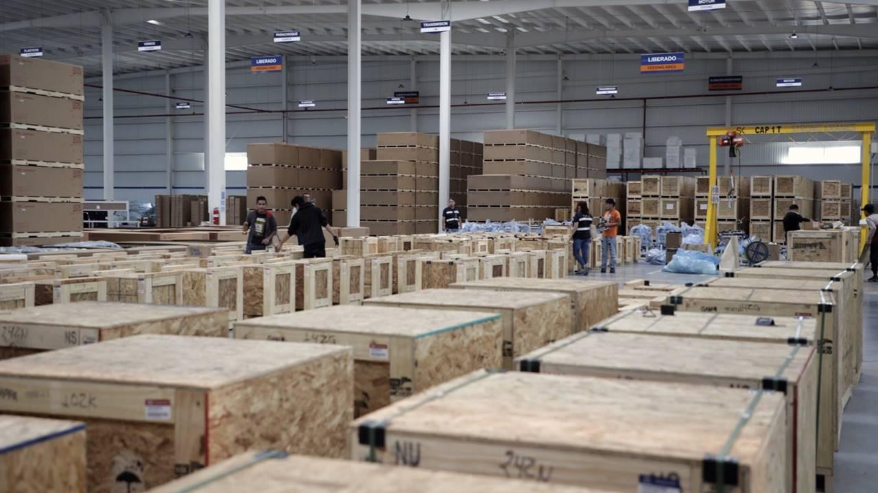 Inauguran centro logístico para exportaciones de autopartes de Kia