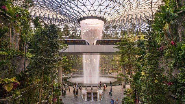 Jewel Changi Singapur