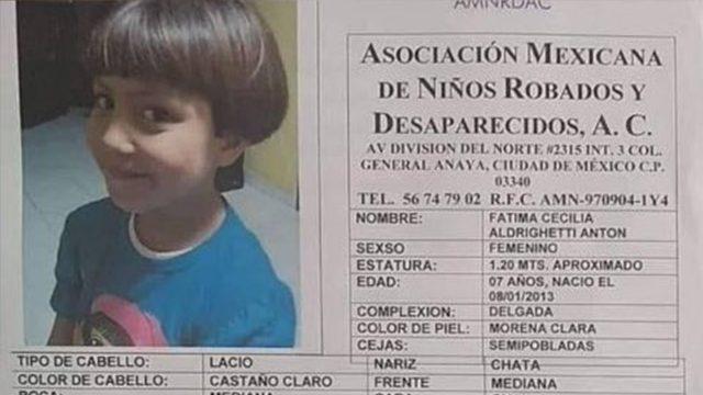 Resultado de imagen para PROTESTAN POR ASESINATO DE NIÑA FÁTIMA EN CIUDAD DE MÉXICO