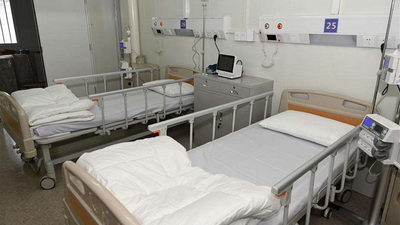 CDMX instala carpas especiales para enfermos de Covid-19 en hospitales
