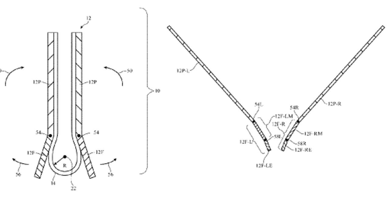 patente apple telefono flexible
