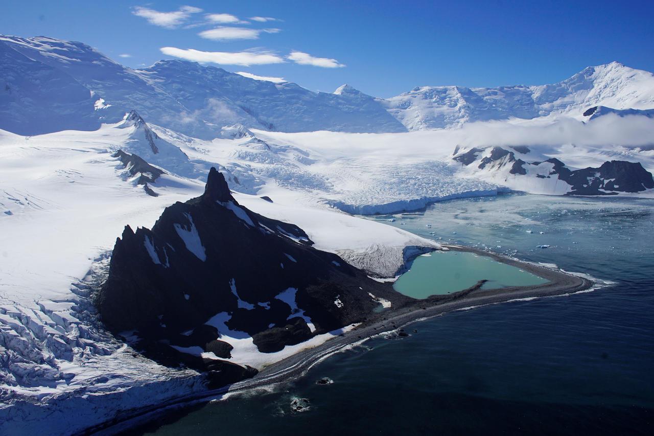 Polo Sur-aumento-temperatura