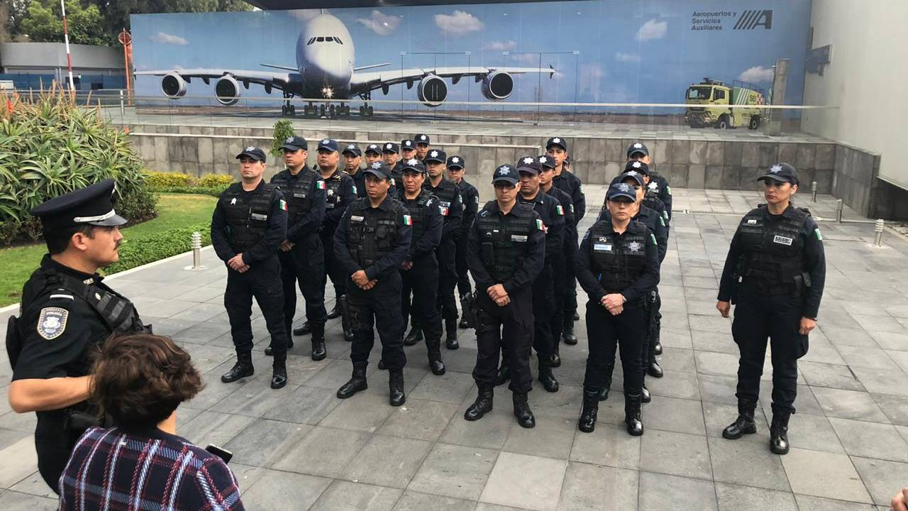 AMLO evalúa crear cuerpo policial para cuidar oficinas de gobierno… y ya existe uno