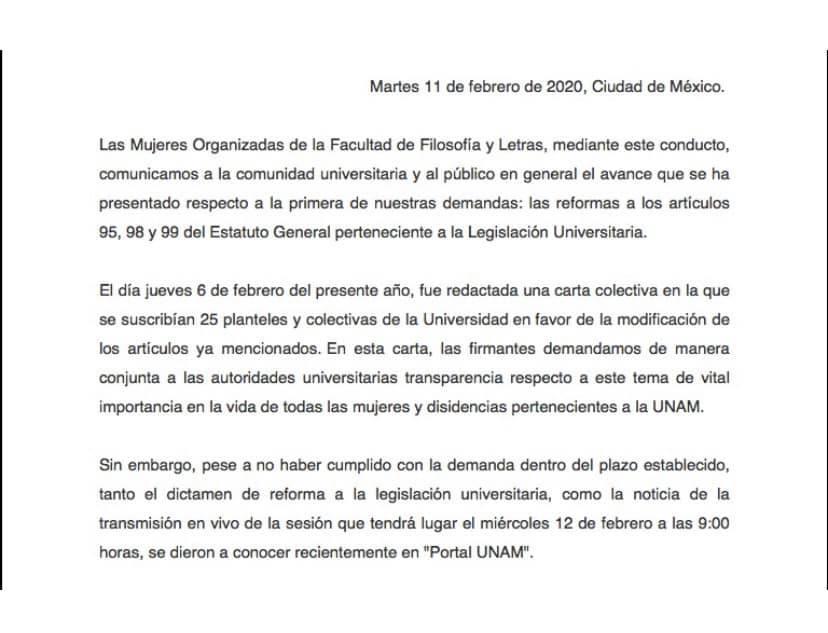 UNAM-paro