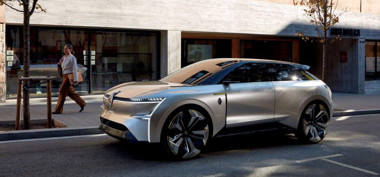 Morphoz, el auto eléctrico de Renault que se estira y transforma