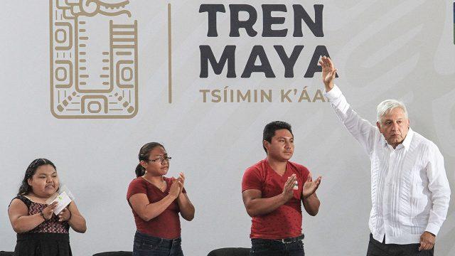 AMLO Tren Maya en Campeche