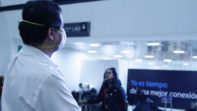CORONAVIRUS MEXICO Aeropuerto covid-19